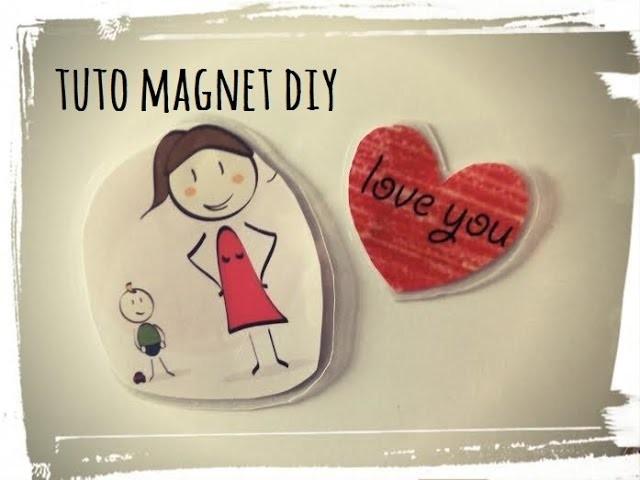 Tuto magnets diy + kit offert sur demande