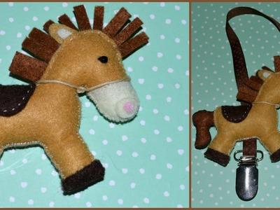 [Tuto] un poney en feutrine !!! rien à voir avec la Fimo ;)