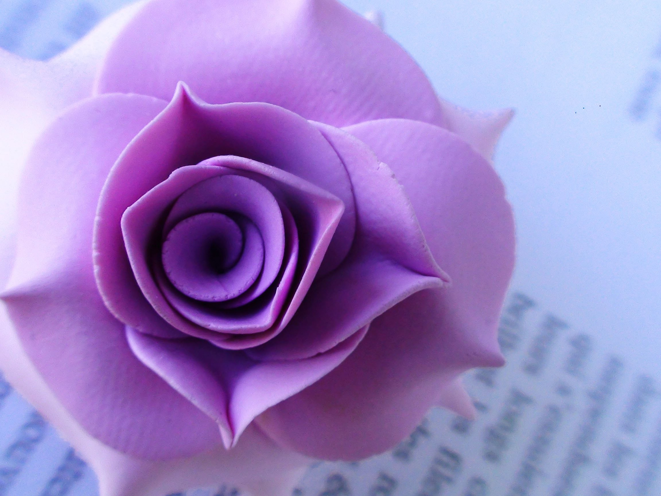 Tuto fimo : rose réaliste - polymer clay tutorial rose