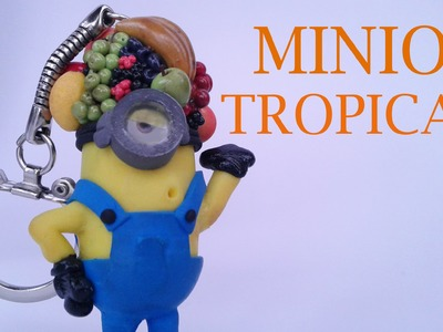 Fimo minion tropical (partie 1) - despicable me polymer clay