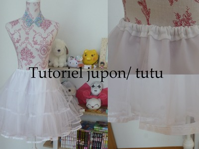 Tutoriel jupon lolita. tutu DIY