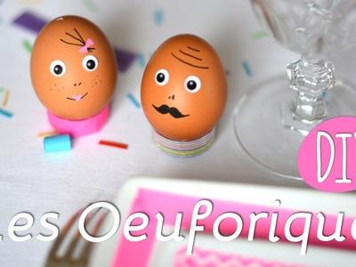DIY Pâques - Oeuf avec message surprise à l'interieur