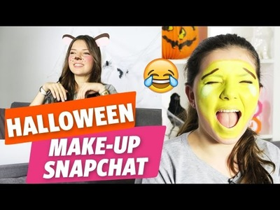 ✿ [Halloween] 2 tutos make-up + 1 DIY « Snapchat » avec Clara ✿