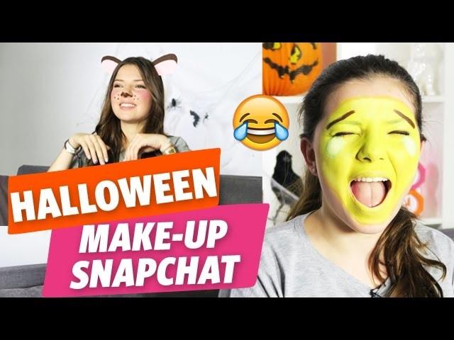 ✿ [Halloween] 2 tutos make-up + 1 DIY « Snapchat » avec Clara ✿