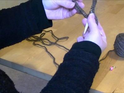 Tricoter en rond avec des aiguilles circulaires PARTIE 1