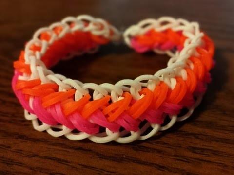 Comment faire un bracelet en élastique avec une fourchette
