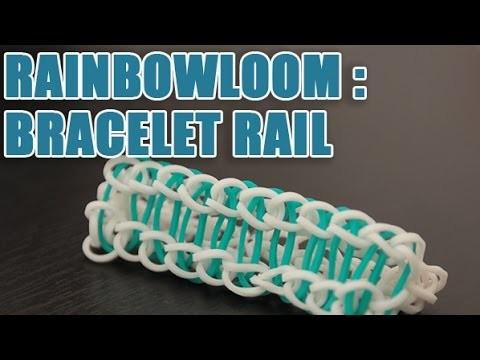 Faire un bracelet Rail en Rainbow Loom