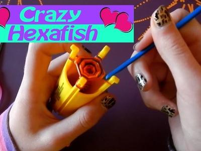 Comment faire. fabriquer facilement un bracelet Crazy Hexafish  de crazy loom