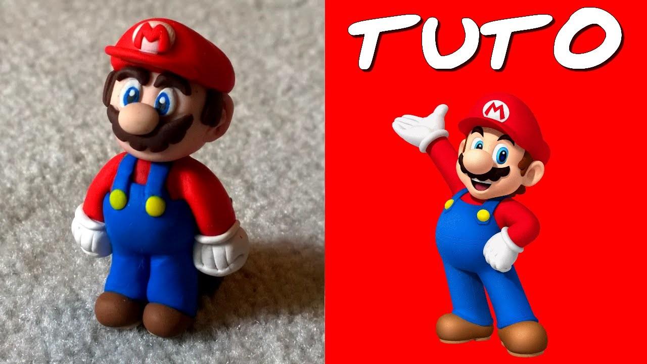 TUTO FIMO   Mario