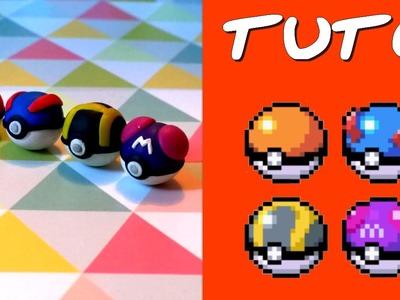 TUTO FIMO | Pokéballs (de Pokémon)