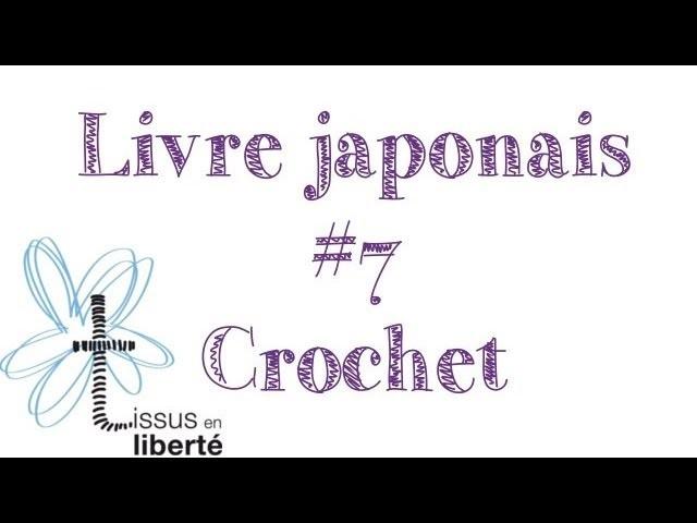 Livre japonais #7 CROCHET