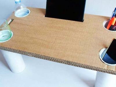 Construisez une table de lit en carton - DIY Maison - Guidecentral