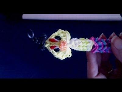 Rainbow loom francais capuchon de stylo Angry Birds loom band)