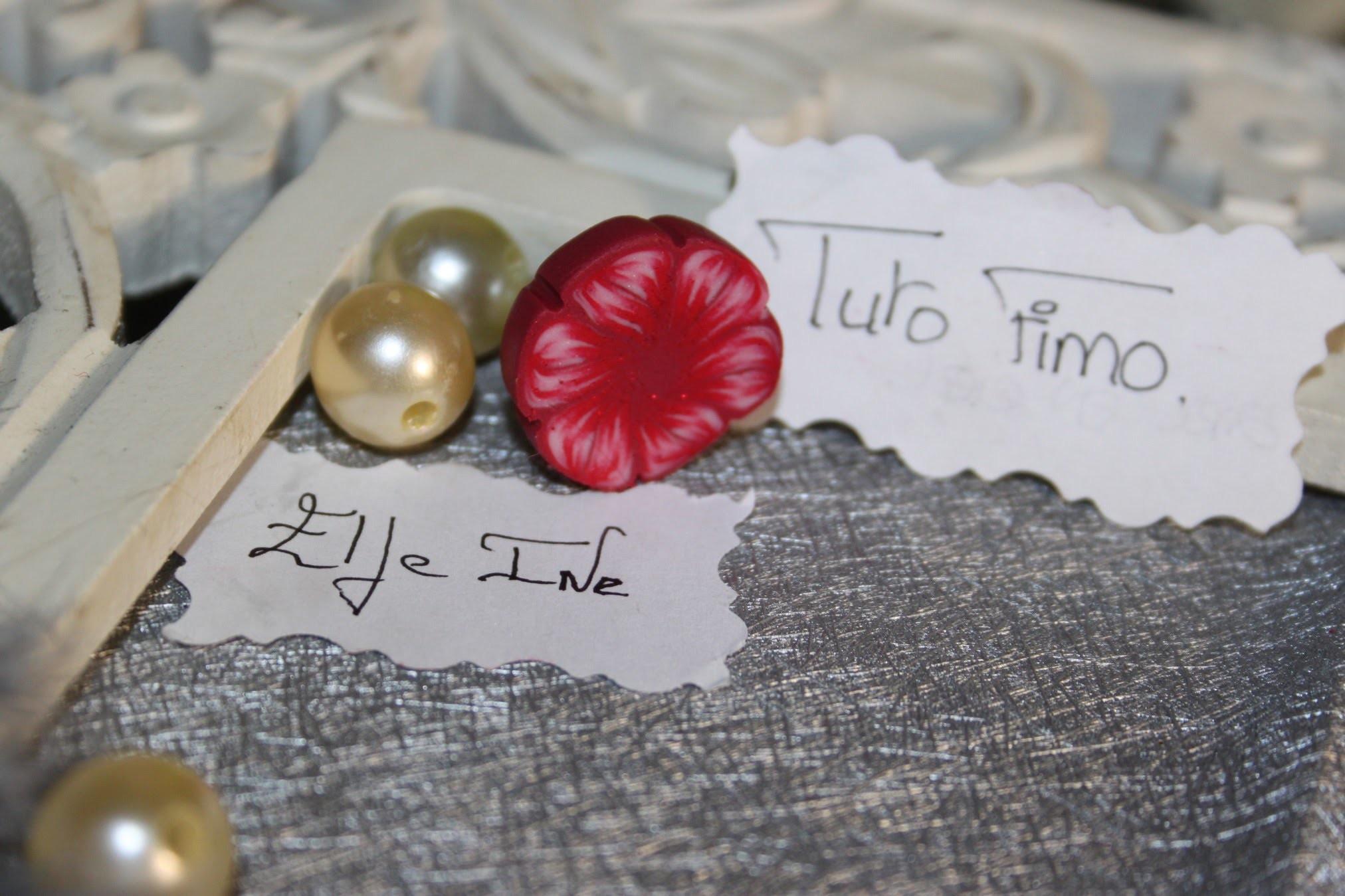 [♥✿ Tuto Fimo : Cane fleur ✿♥] ~ [♥✿ Polymer Clay Tutorial : Cane flowers ✿♥]