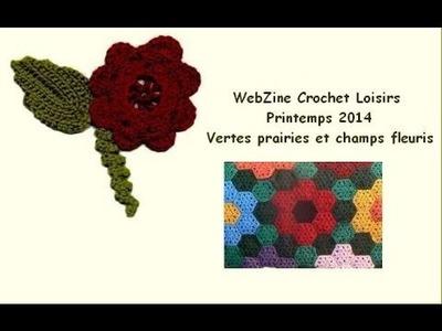 Le WebZine Crochet-Loisirs printemps 2014 vient de paraitre