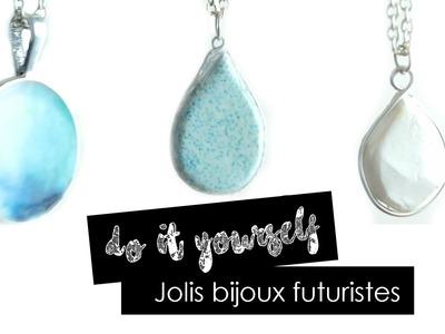 || DIY || Jolis bijoux futuristes
