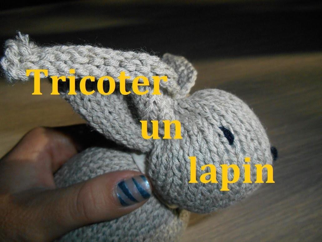 Tricoter un lapin