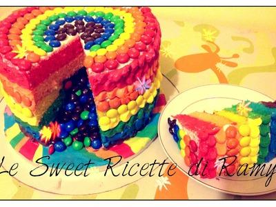 Gâteau arc en ciel Piñata