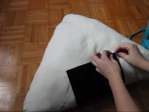 How to make a onigiri pillow. Comment faire un coussin Onigiri