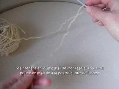 Le montage des mailles au tricot