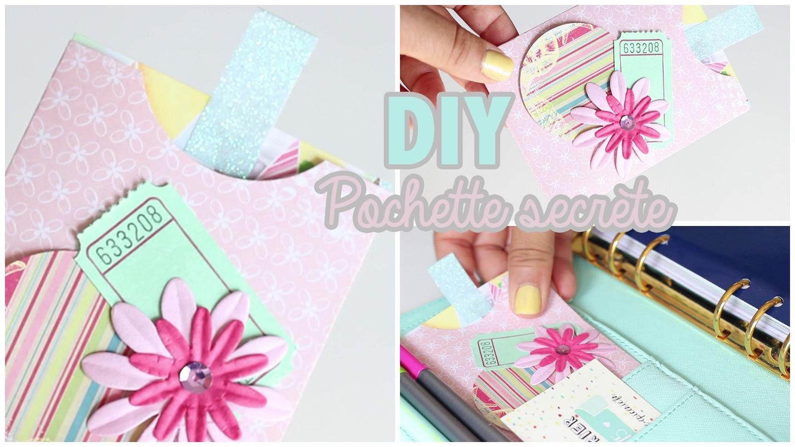 DIY # TUTO Paper craft : Pochette secrète