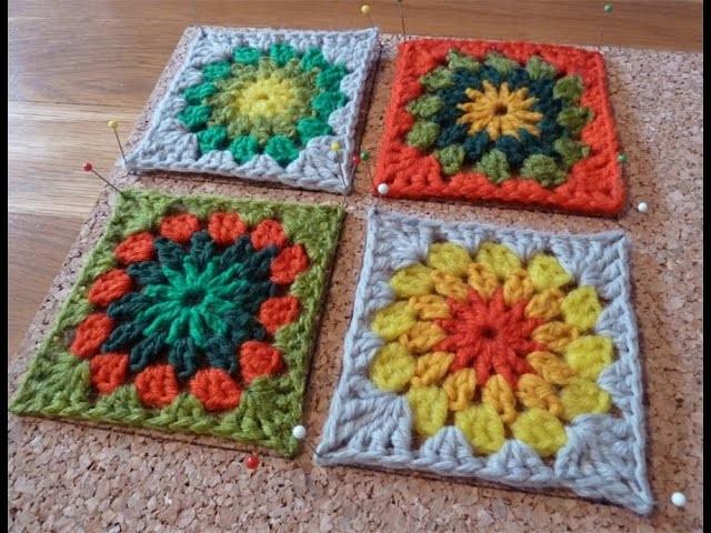Comme bloquer ses Grannies Squares en crochet?