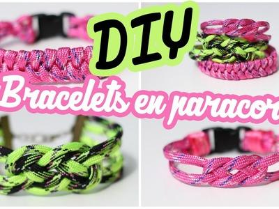 DIY # TUTO Bracelets en paracord