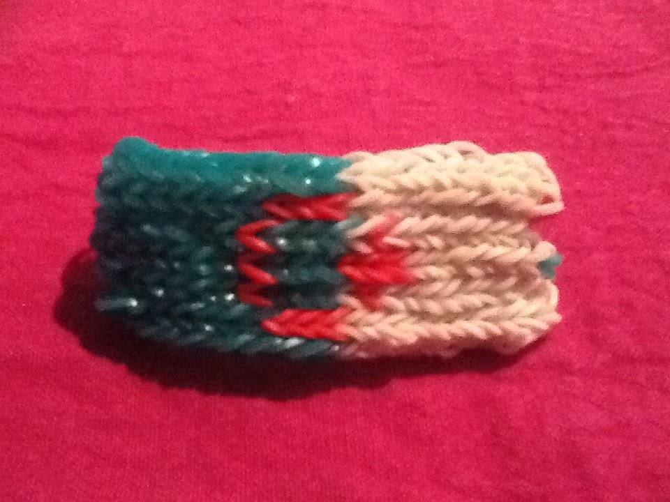 Tuto : bracelet rainbow loom drapeau algérie