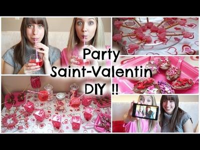 DIY Party de SAINT-VALENTIN ! | Snacks, boisson, activitées & plus !!