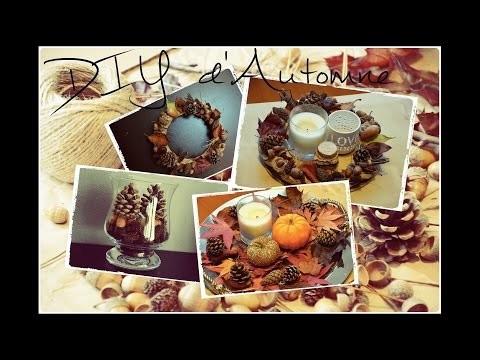DIY : Décorations d'automne