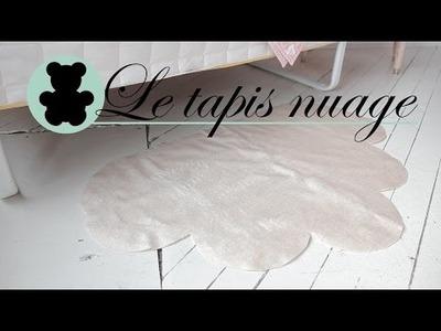 DIY Décoration - Comment faire un tapis en forme de nuage - Ismérie Anglade