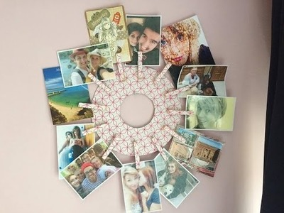 ♡ DIY Porte photo ♡  ☼ Facile, moins de 5 euro ! ☼