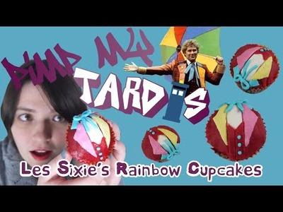 Pimp My Tardis #4 - Les Sixie's Rainbow Cupcakes (DIY Doctor Who)