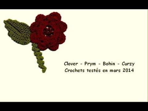 Crochet-Loisirs - tous les crochets testés dans le WebZine de Mars 2014