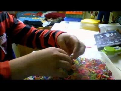 Présentation rangement rainbow loom
