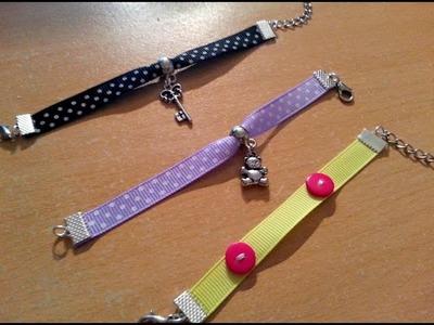 DIY : Création Bracelet-Ruban.