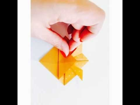 DIY du Mercredi : Origami Facile de Poisson