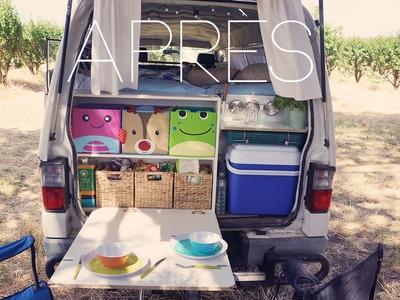 DIY : Van AVANT.APRÈS !