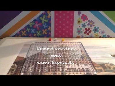 Les puffys - Perles HAMA - Tuto.DIY marque page cupcake
