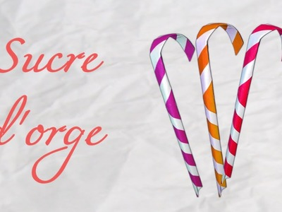 Origami ! Sucre d'orge - Candy can paper [ HD ]