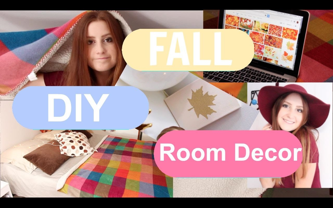 How To Make Your Room Cosy For FALL + Fall room decor + DIY 2015
