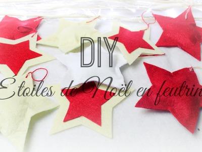 [ D.I.Y de Noël #5 ] : Etoiles de Noël ❆