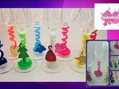 DIY. Décorer et identifier vos verres. Sympa et facile!!!