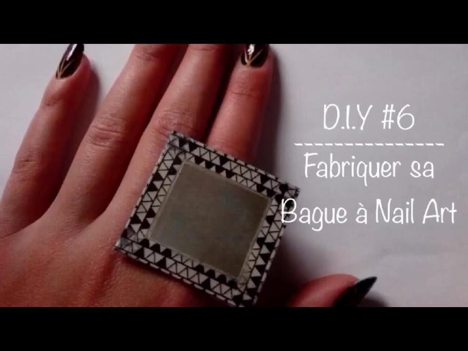 D.I.Y #6 : Fabriquer sa Bague à Nail Art