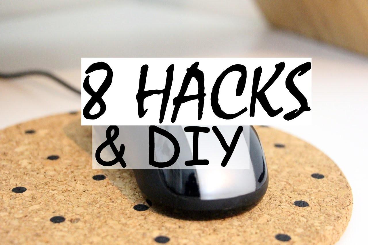 DIY | 8 hacks essentiels pour votre bureau