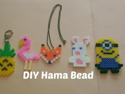 [ DIY ] Perles à repasser hama.Perler beads pattern (Fox-Pineapple-Flamingo-Minion-Lapin crétin)
