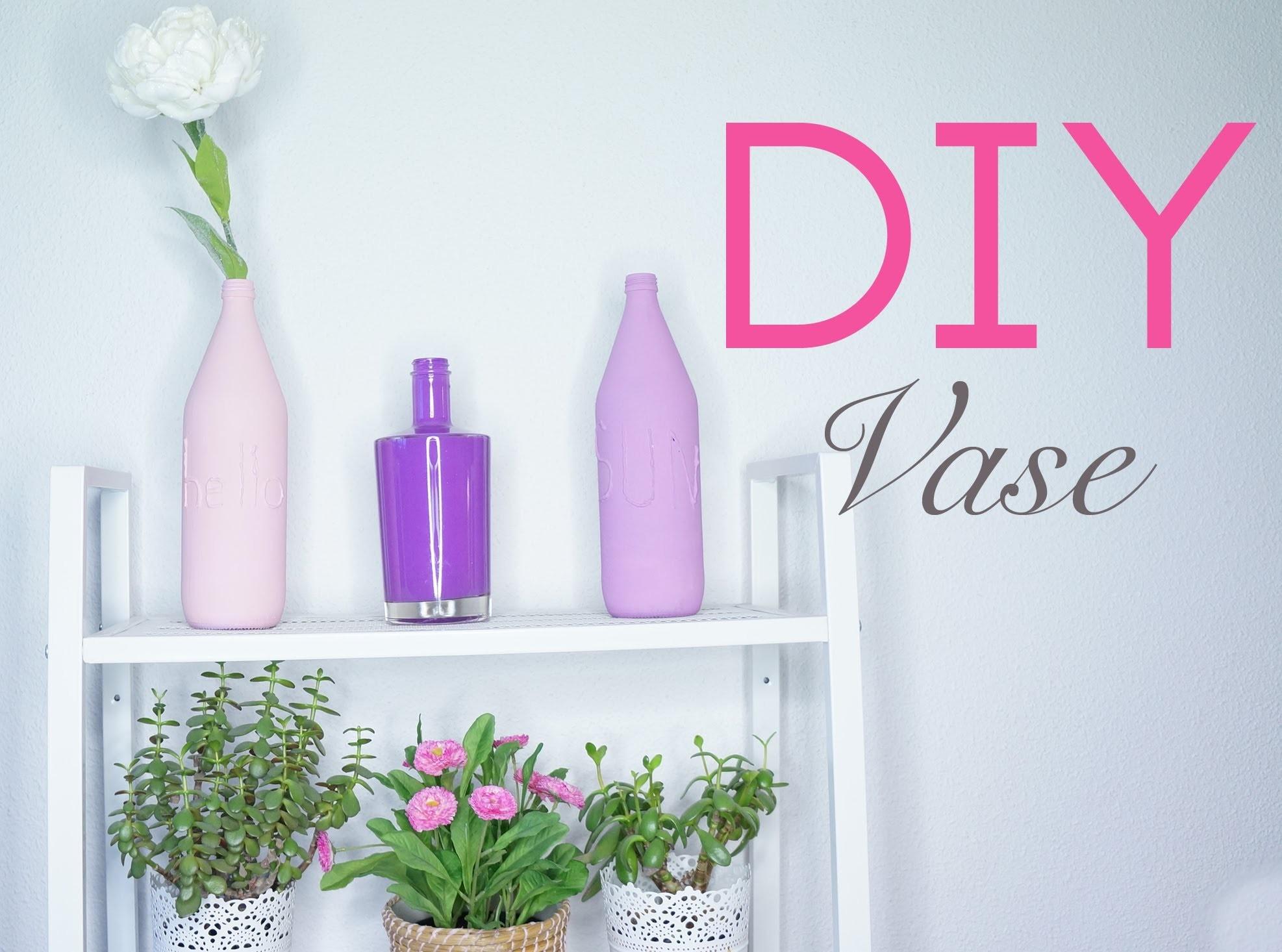 DIY : Vases colorés. Colorful vases