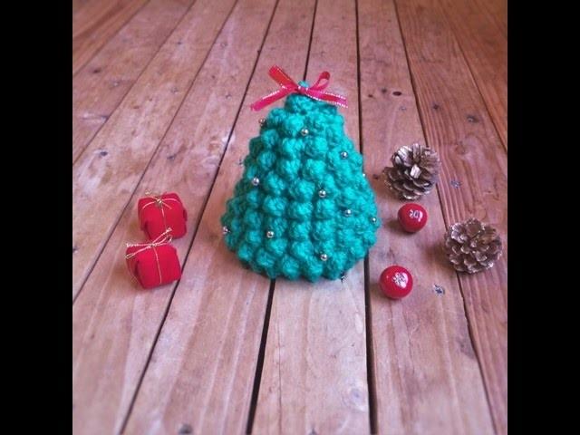 Tuto crochet : Sapin de Noel. Christmas tree crochet