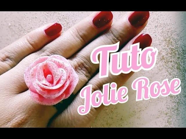 Tuto Fimo Jolie Rose | Beautiful Rose Polymer Clay Tutorial ♥