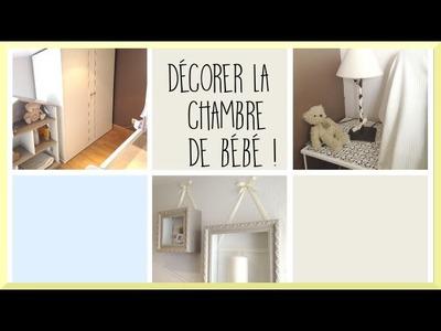 [diy] Décorer la chambre de bébé ! - Zakira -